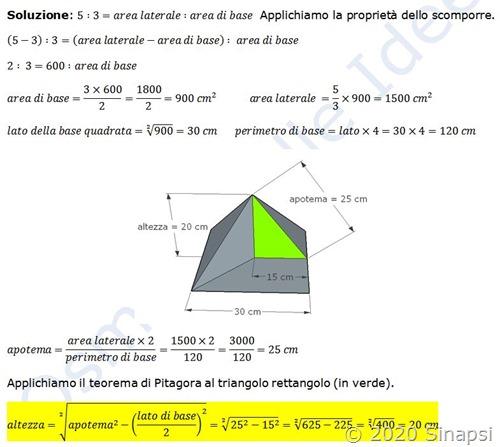 Come si risolve un problema di geometria