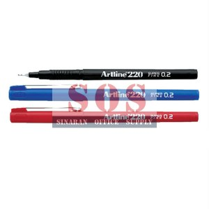 Artline 220 Writing Pen 0.2mm