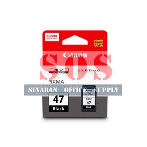 Canon Black Ink Cartridge PG-47