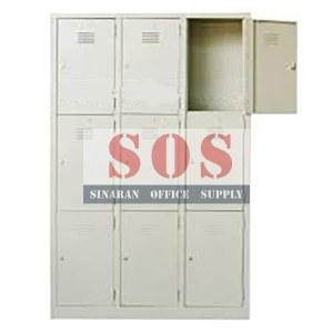 S105/A-9 Compartment Multiple Locker