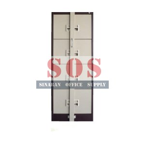 S106/ABLB- 4 Drawer Metal Cabinet (Locking Bar)