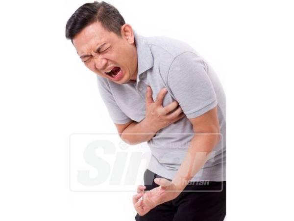 Lebih 80 peratus pesakit jantung terdiri kalangan kaum lelaki.