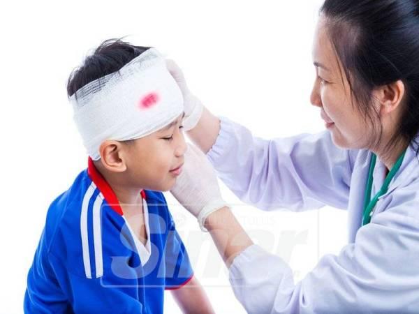 SEGERA dapatkan rawatan doktor apabila pendarahan tidak berhenti.