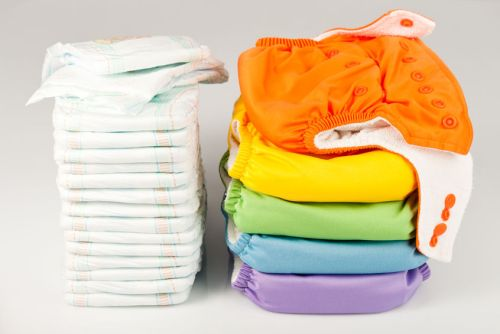 Eco-Friendly Diapers Material