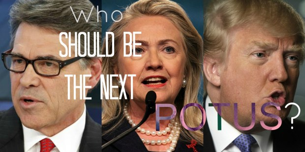 Who should be the next president?