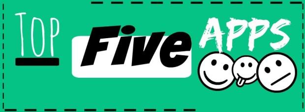top five apps