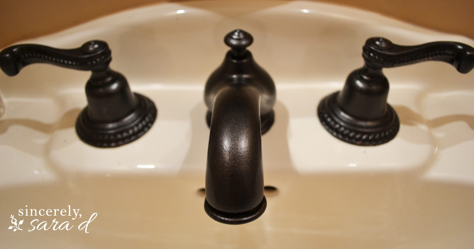 Painting A Faucet