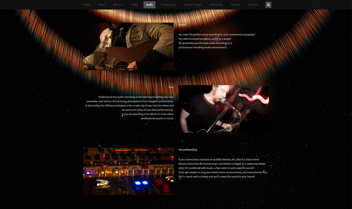 Website Sincere 6 - Web Design