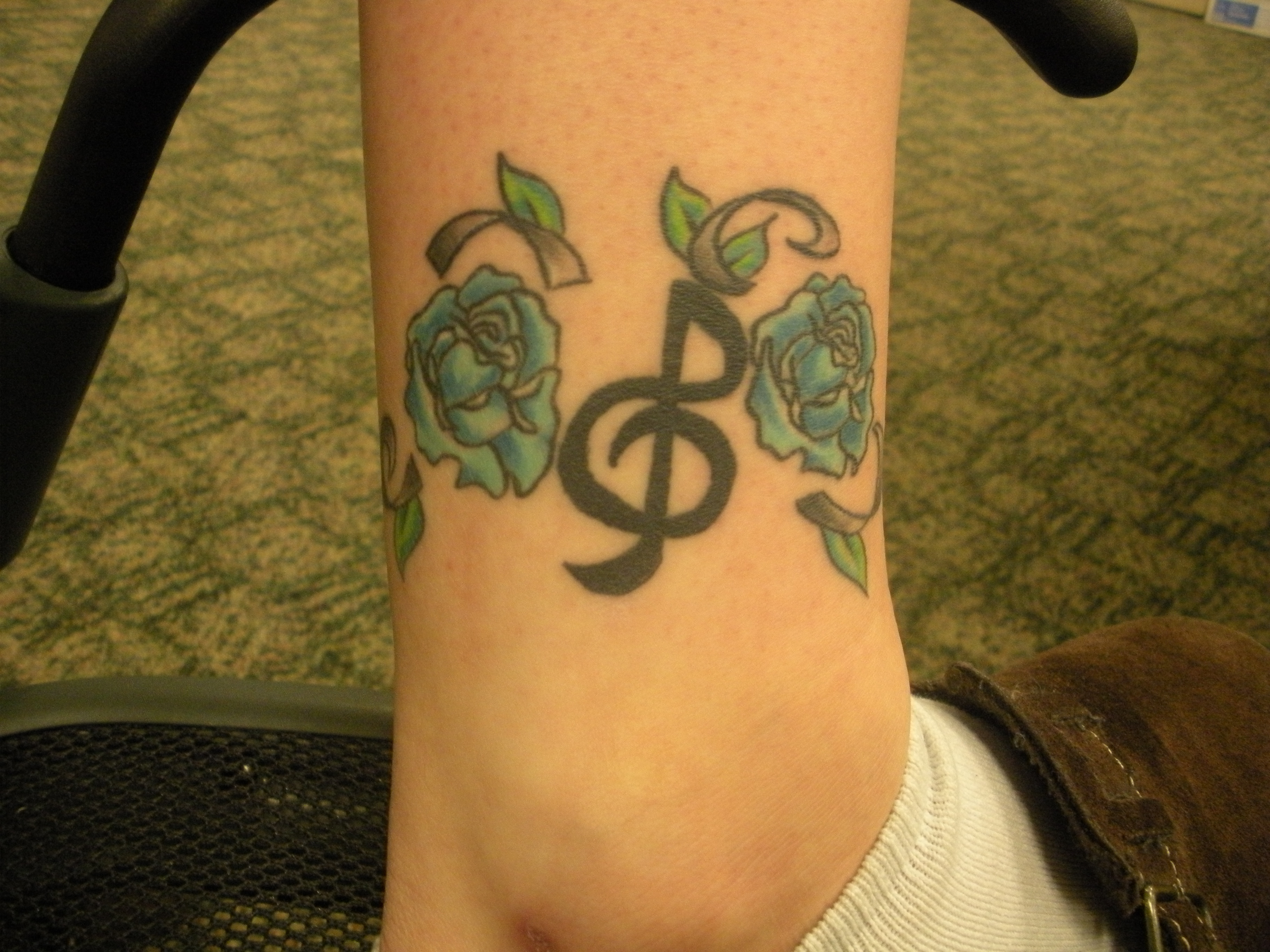 tartan tattoo of the week music and flowers the clarion