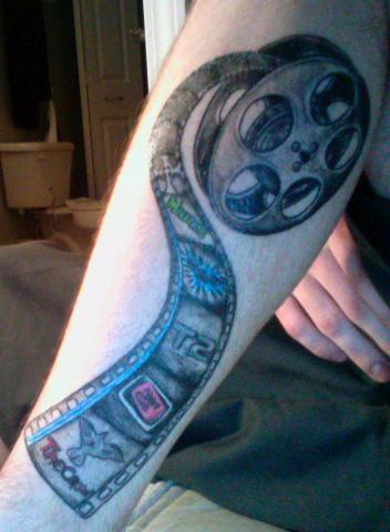 Tartan Tattoo of the Week (film reel). May 10, 2010 by Samuel Huist