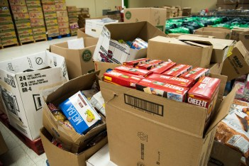 Laughlin stocks food bank with largest donation yet
