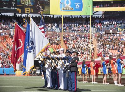 Service members support 2016 NFL Pro Bowl