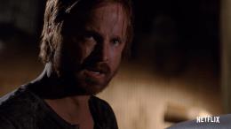 "Aaron Paul playing Jesse Pinkman on ""El Camino"""