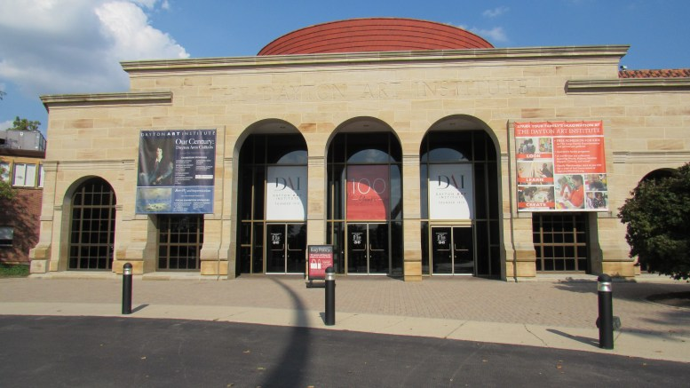dayton art institute entrance