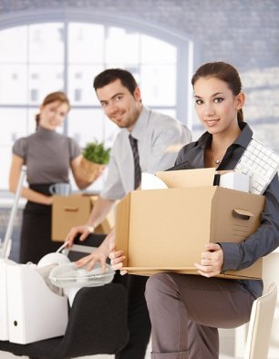 Mayflower Helping Business People Move Office