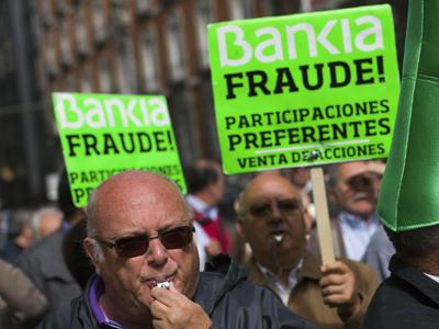 Anuladas unas preferentes de Bankia