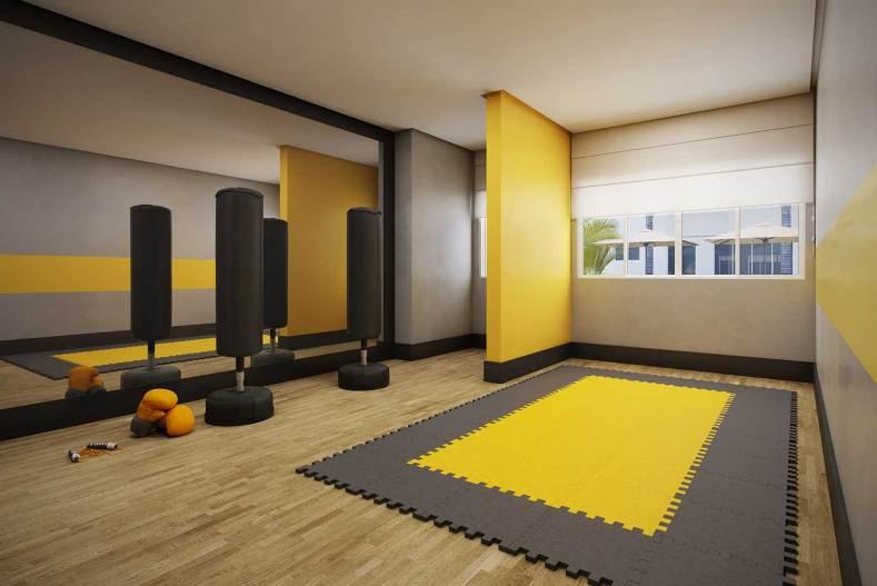 Sala de lutas