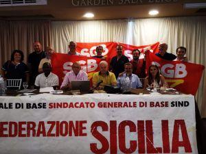 Congresso regionale SGB Sicilia Cresce il sindacato, cresce la partecipazione