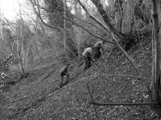 Climbing a hill in Bath