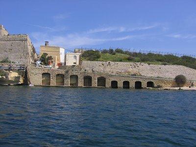 Valletta harbour ramp