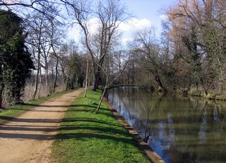 Canal near Magdalen College
