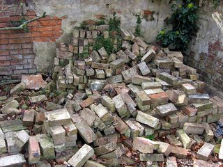 All just bricks in the wall