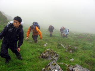 First Scotland ascent