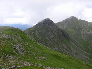 Three peaks we climbed