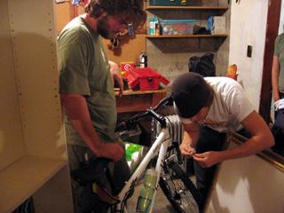 Jonathan Morissette and Neal Lantela