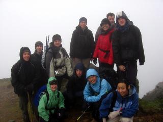 Oxford University Walking Club in Snowdonia
