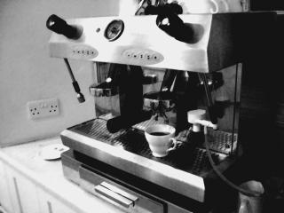 Wadham College espresso machine