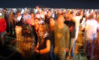 Gnawa Festival crowd