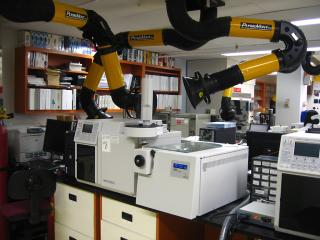 Oil spill analysis equipment
