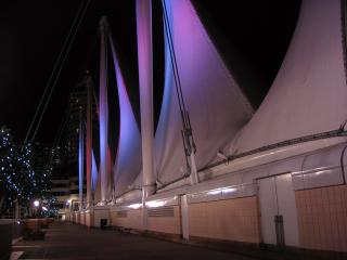 Sails at Canada Place
