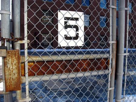 5 on a fence