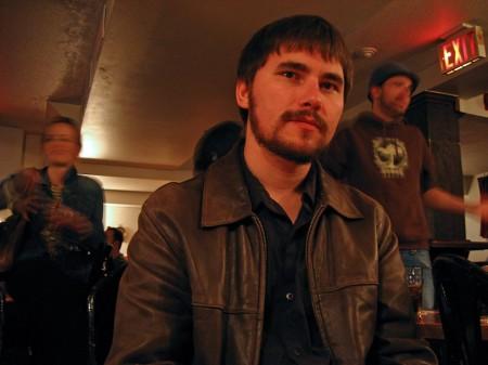 Milan Ilnyckyj in The Manx pub