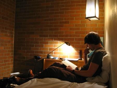 Milan Ilnyckyj reading at Massey College