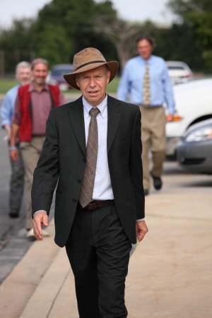 James Hansen after getting released from Anacostia jail, 2011-08-29