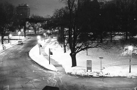 University of Toronto snowscape
