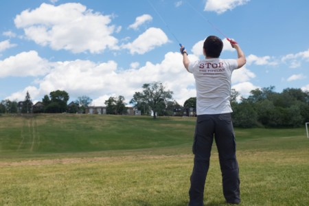 Kiting as therapy for chronic shoulder injuries?