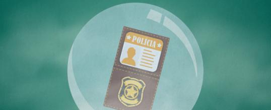 CONTRASP lança campanha Porta Giratória não é bola de cristal.