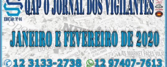 QAP Jornal dos Vigilantes – Janeiro e Fevereiro 2020