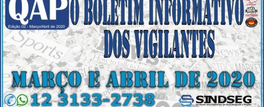 QAP Jornal dos Vigilantes – Março e Abril 2020
