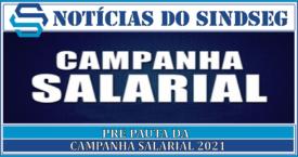 Campanha Salarial 2021 Pre Pauta