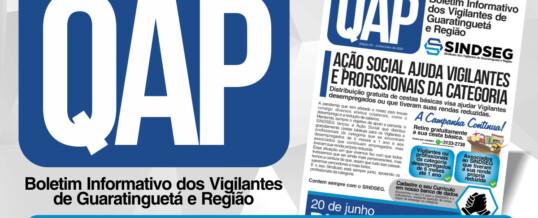 QAP Jornal dos Vigilantes – Setembro e Outubro 2020
