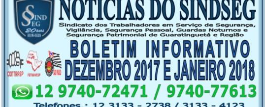 Boletim Informativo Dezembro 2017 e Janeiro 2018