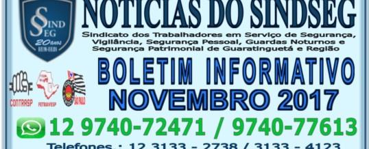 Boletim Informativo Novembro de 2017