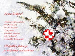 Rahulikke jõule ja meeleolukat aastavahetust