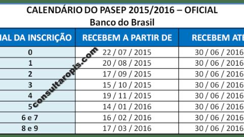 """<span class=""""entry-title-primary"""">CALENDÁRIO PASEP 2015/2016</span> <span class=""""entry-subtitle"""">Começa o pagamento quarta-feira, dia 22 de julho de 2015 e vai até 30 de junho de 2016</span>"""
