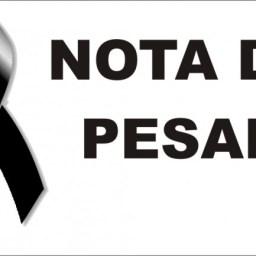 Nota de Pesar pelo falecimento da professora Carmem Lúcia e sua filha Natália